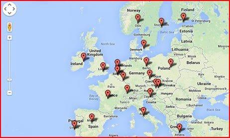 Interactive map: Europe's development agencies