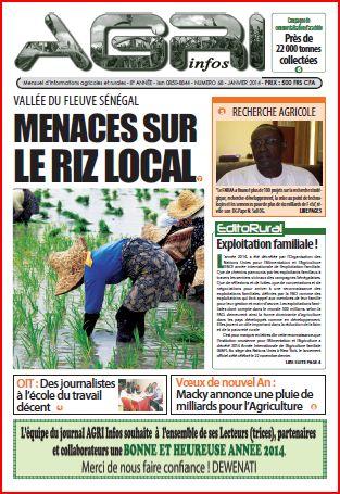 Agri-Infos n°68 (janvier 2014)