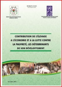Burkina Faso : Contribution de l'élevage à l'économie et à la lutte contre la pauvreté et les déterminants de son développement