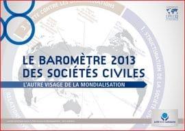 CCFD-Iris : Baromètre des sociétés civiles 2013