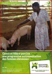 Etude AVSF : Genre et filière porcine au Togo : une progressive autonomisation des femmes éleveuses