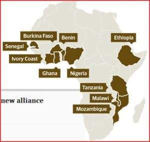 Guide interactif du Guardian : The G8 and the fight for the future of African farming