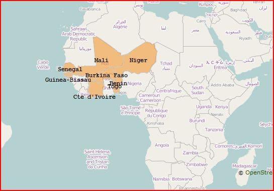 UEMOA : Atlas des pêcheries