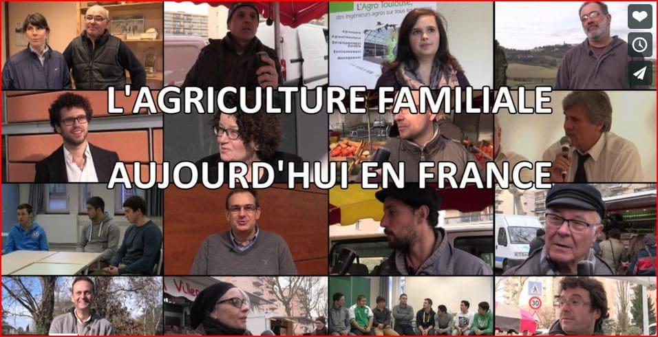 Film : Focus sur l'agriculture familiale aujourd'hui en France