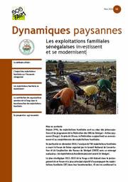 Dynamiques paysannes : Les exploitations familiales sénégalaises investissent et se modernisent