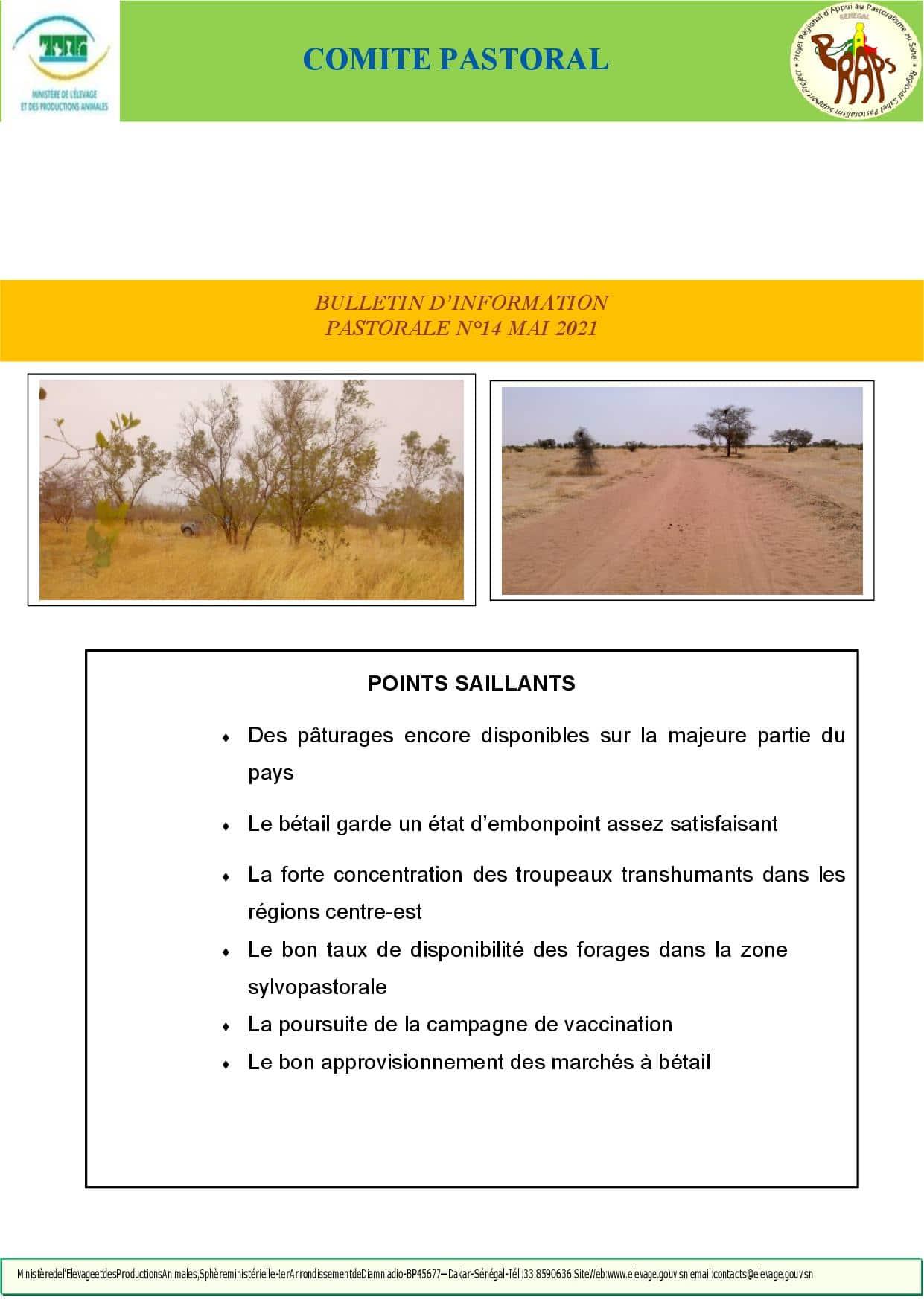 Bulletin d'information pastorale N°14