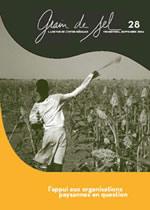 28 : L'appui aux organisations paysannes en question