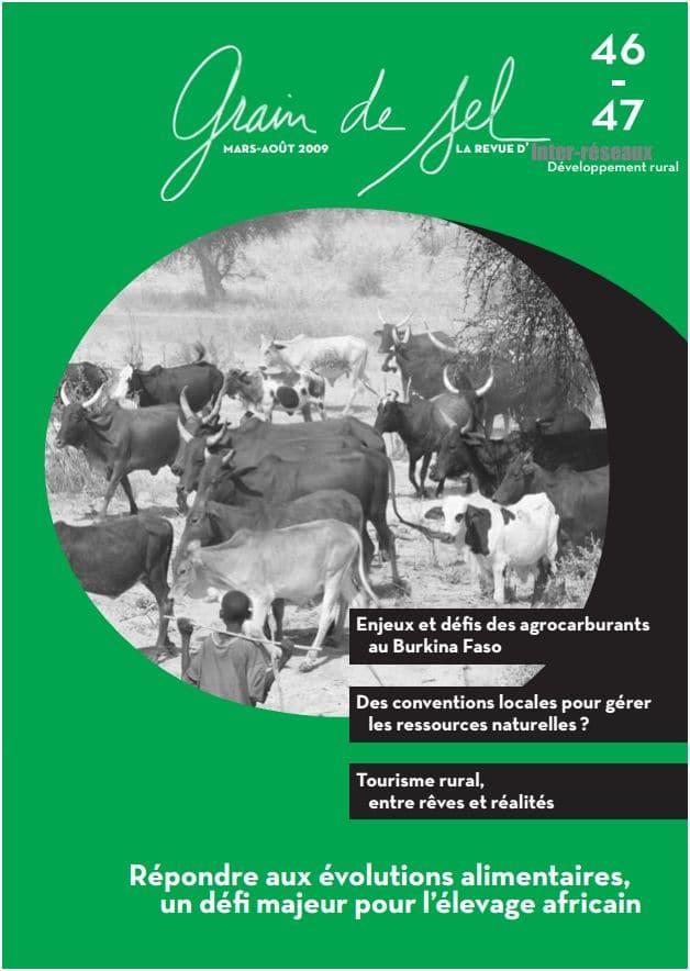 46-47 : Répondre aux évolutions alimentaires, un défi majeur pour l'élevage africain