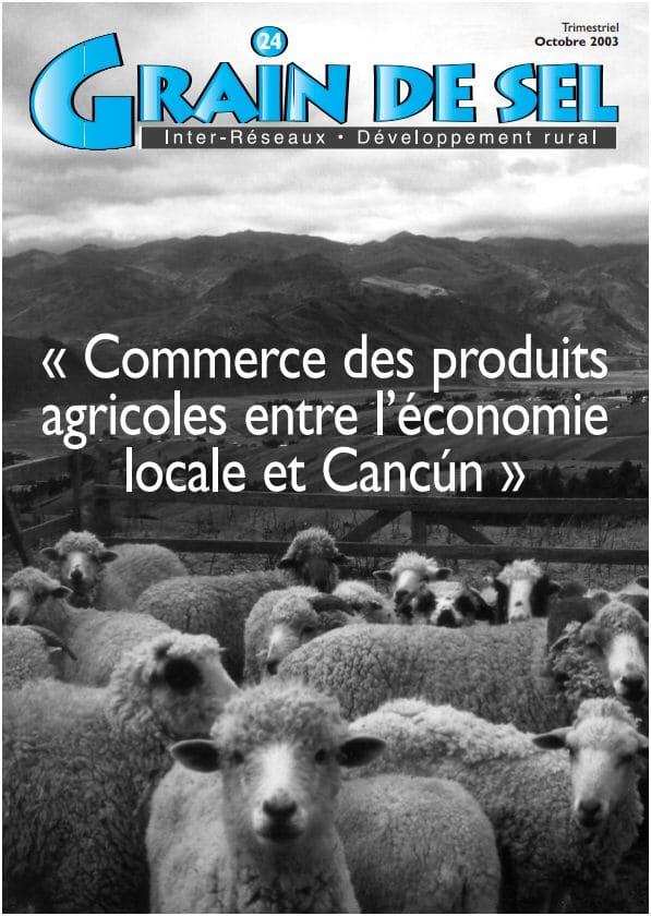 24 : Commerce des produits agricoles entre l'économie locale et Cancùn
