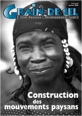 22: Construction des mouvements paysans
