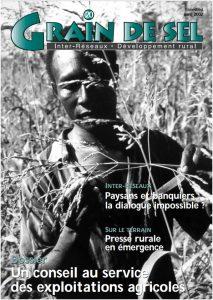 20 : Un conseil au service des exploitations agricoles