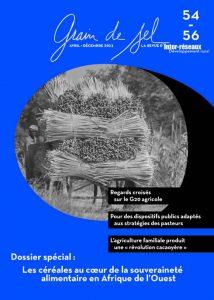 54-56 : Les céréales au coeur de la souveraineté alimentaire en Afrique l'Ouest