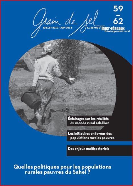 59-62 : Quelles politiques pour les populations rurales pauvres du Sahel ?