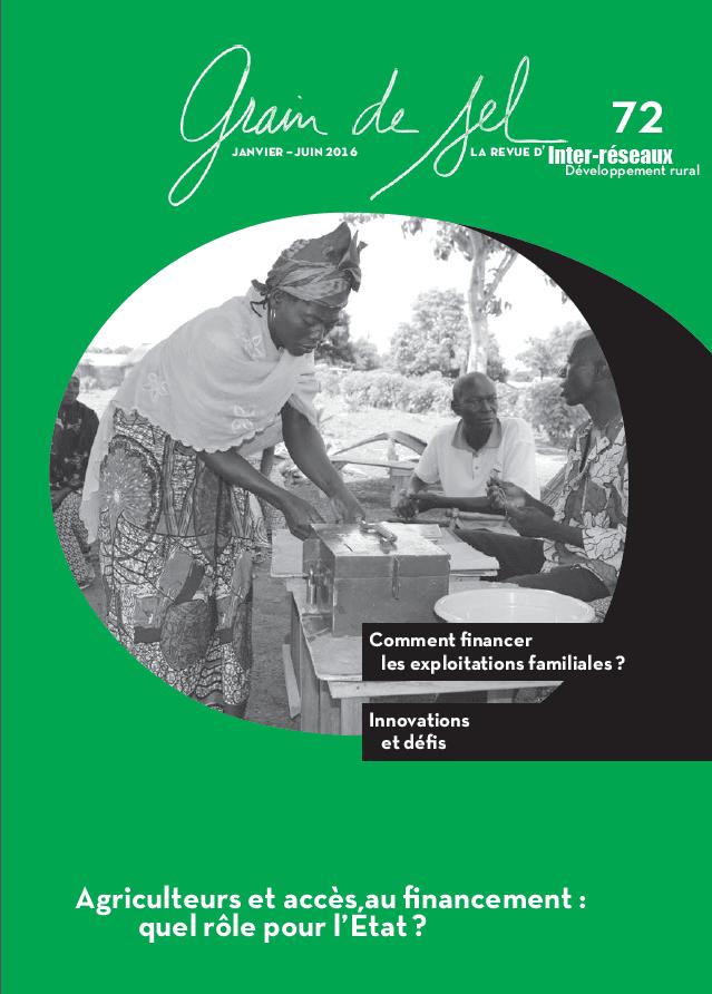 Agriculteurs et accès au financement: quel rôle pour l'État?