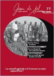 Grain de Sel n°77 - Le conseil agricole a-t-il encore un sens aujourd'hui ?