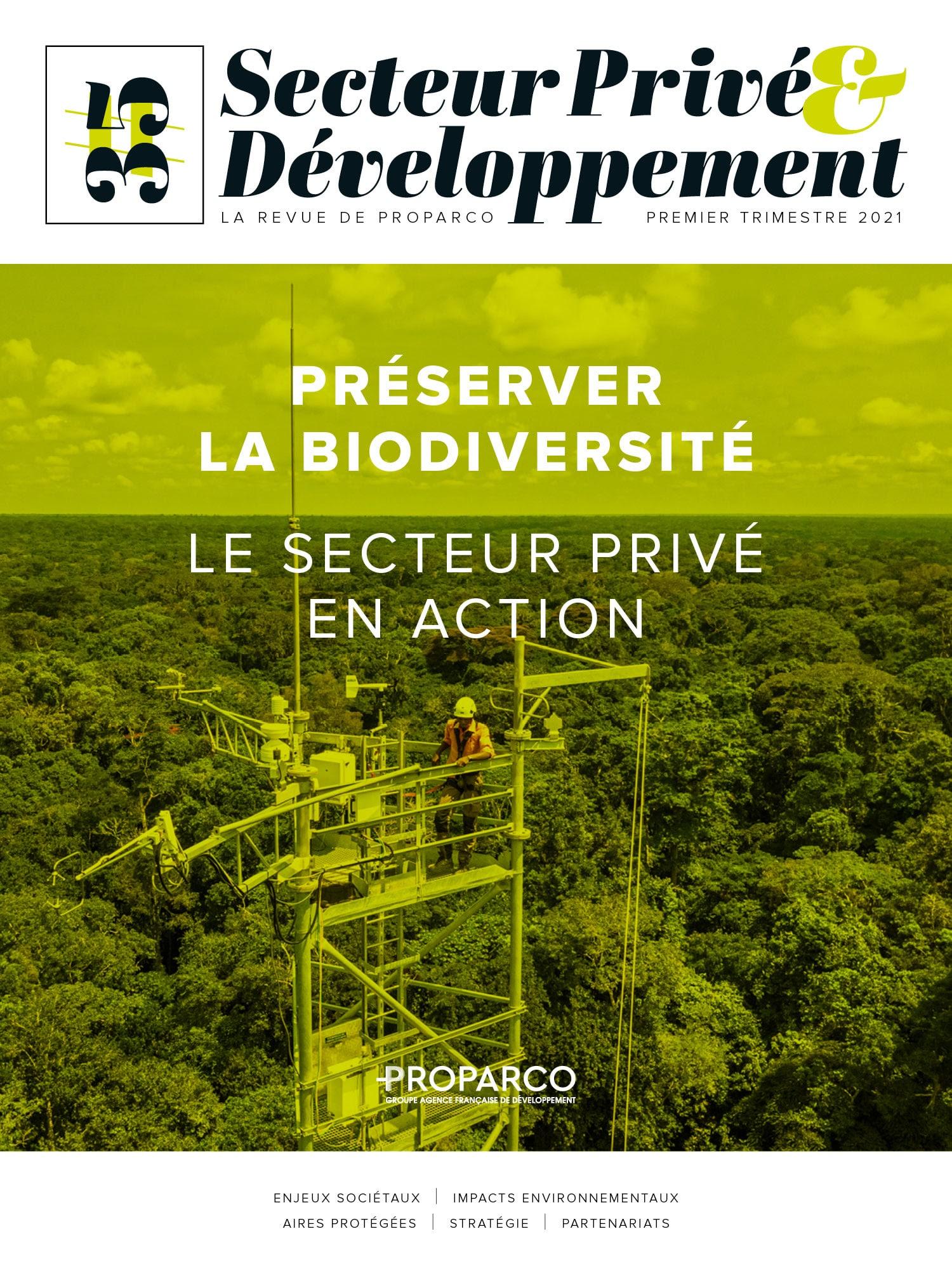 Revue - Préserver la biodiversité, le secteur privé en action