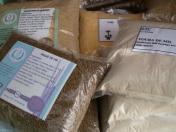 Premier essai de présentation des différents produits locaux transformés à base de céréales